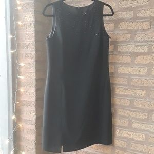 Little Black Dress with Crystals NWT Virgo Sz 10P